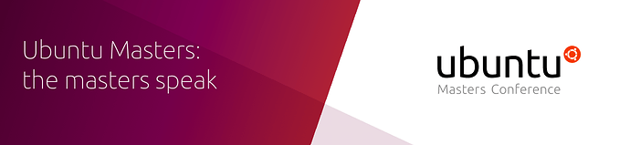 "Banner ""Ubuntu Masters Conference"""